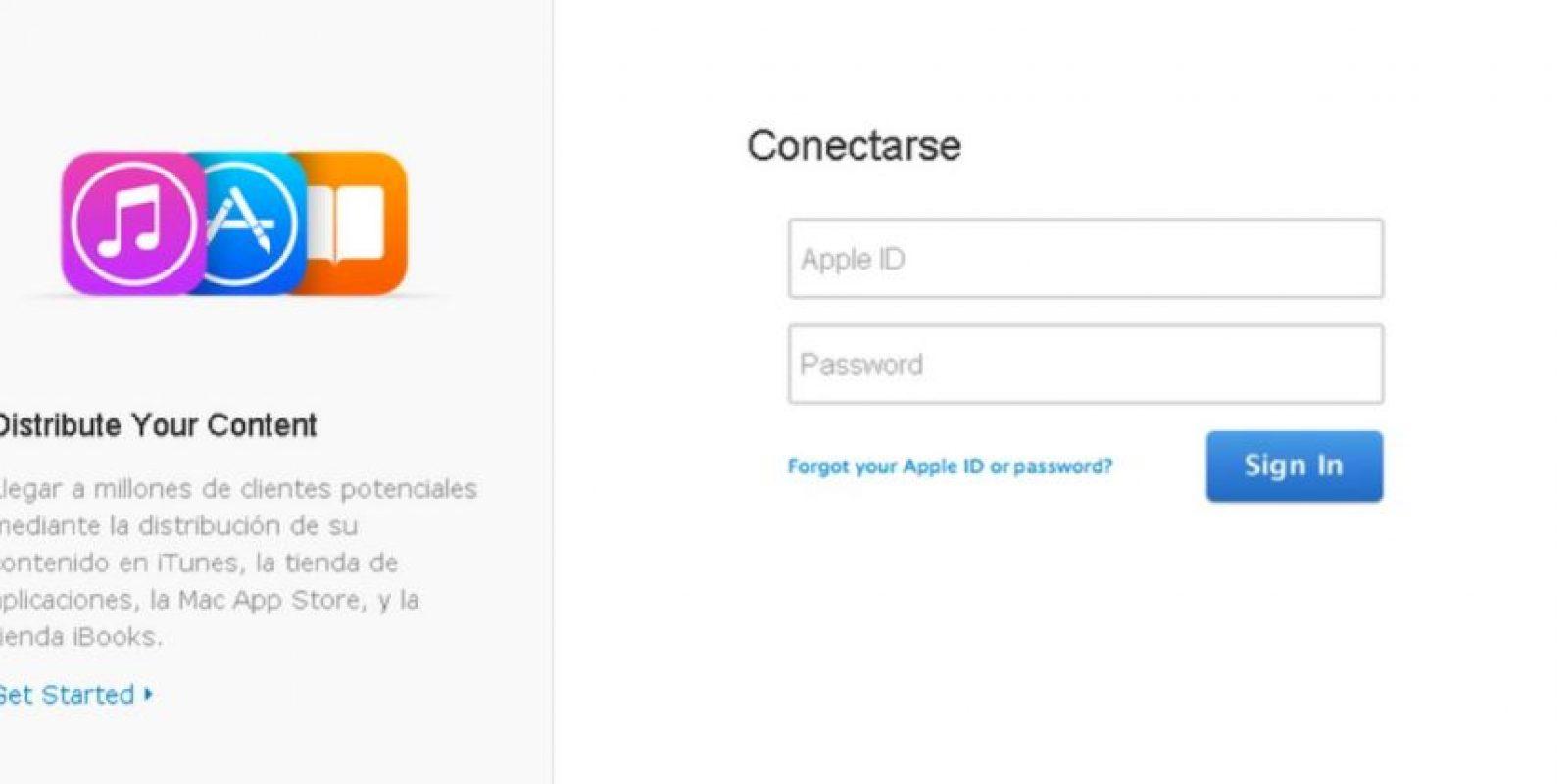De igual forma, iCloud sufrió problemas Foto:Apple