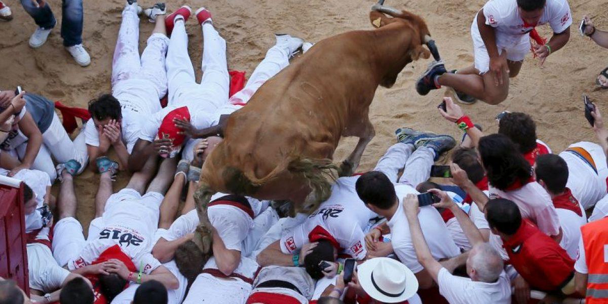 FOTOS: Así se vivió el primer día de encierro en la Fiesta de San Fermín