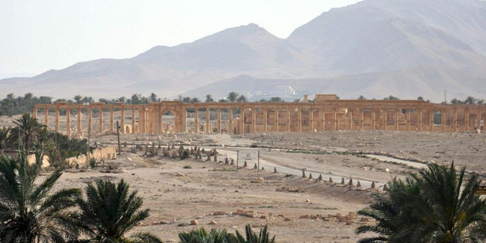 4. Según la UNESCO, las ruinas monumentales de la ciudad fueron uno de los centros culturales más importantes del mundo antiguo. Foto:AFP