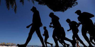 Ellas acostumbran a correr todas las mañanas durante la semana. Foto:Getty Images