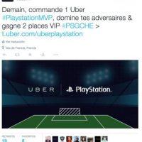 7) Juego de PlayStation en Uber. Foto:Uber