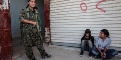 3. Dicho medio detalló que este equipo de mujeres se destaca en Siria. Foto:Getty Images