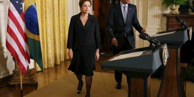 Los mandatarios de ambos países limaron asperezas el 30 de junio, después del escándalo de espionaje de la NSA a funcionarios brasileños, ella incluida. Foto:Getty Images