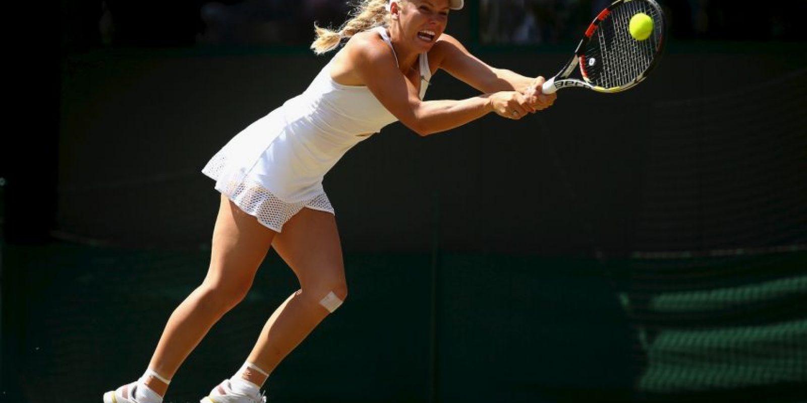 La danesa Caroline Wozniacki es una de las mejores tenistas del mundo en la actualidad. Foto:Getty Images