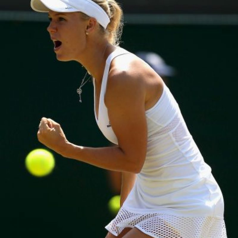 De 24 años, Wozniacki es actualmente la número 5 del ranking de la ATP. Foto:Getty Images