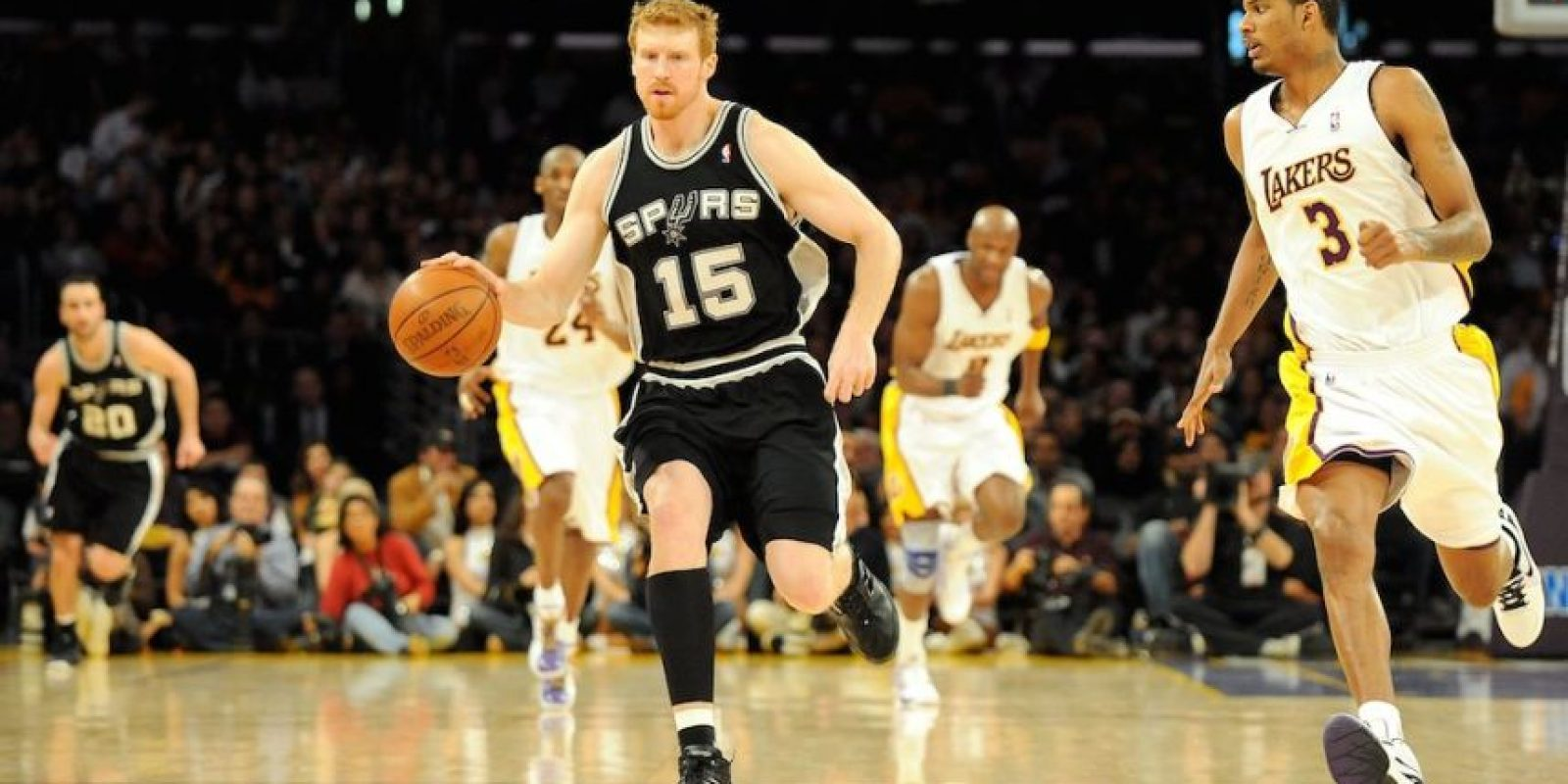 Bonner forma parte de los Spurs de San Antonio de la NBA. Foto: Getty Images