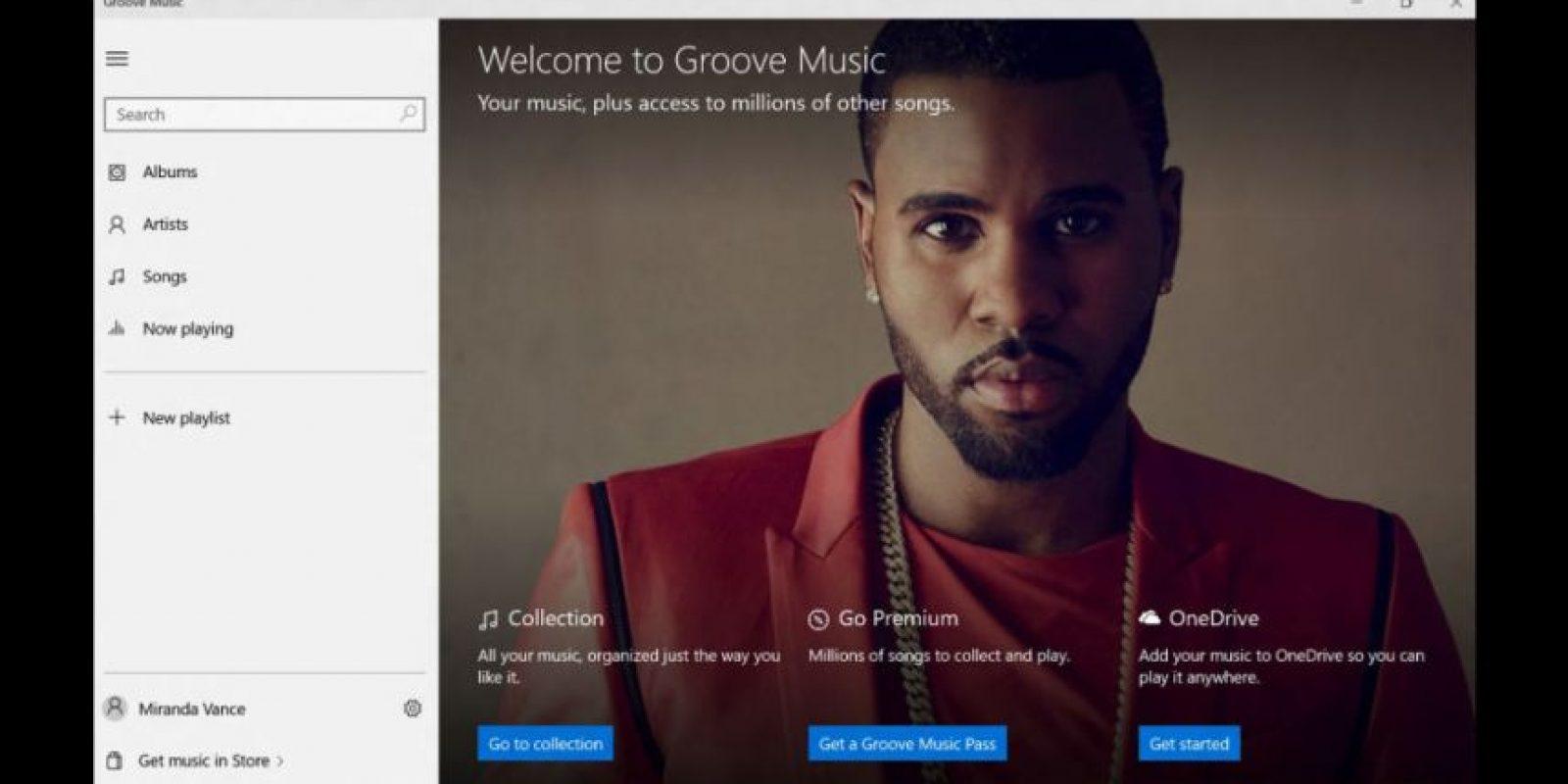 Tendrá conexión y sincronización con cuentas de Outlook, OneDrive y servicio premium Foto:Microsoft