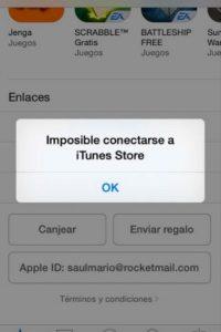 Algunos más indicaron que no pudieron conectarse Foto:Apple
