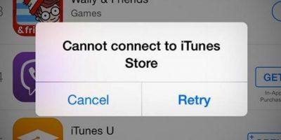 Los problemas fueron a nivel global Foto:Apple