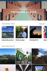 """Nueva página de """"Explorar"""" Foto:Instagram"""