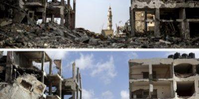 FOTOS: Así luce la Franja de Gaza a un año de los bombardeos en contra de Hamas