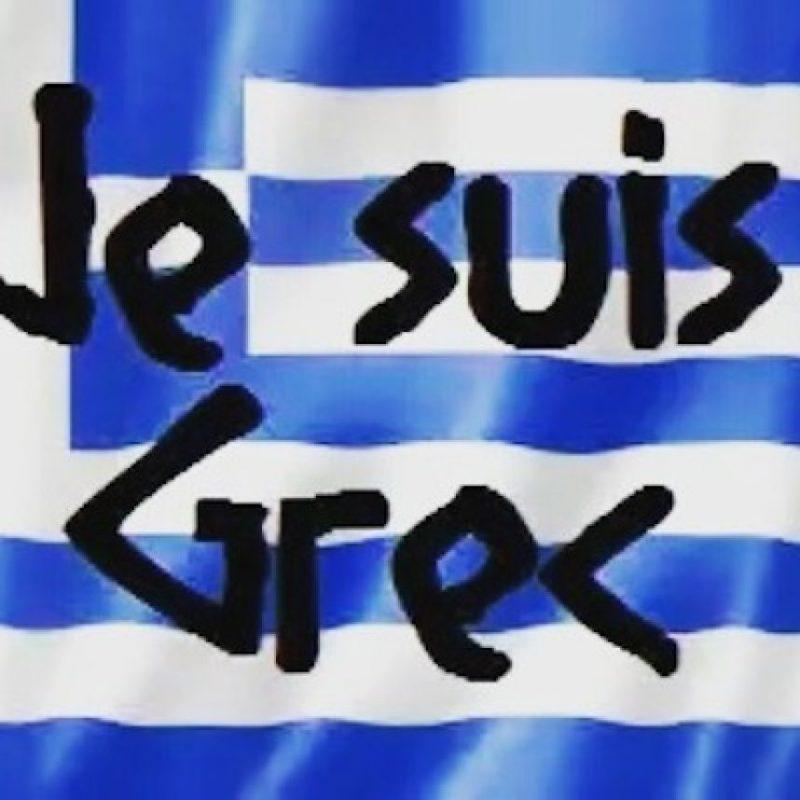"""Al estilo #JeSuisCharlie, hashtag creado tras los ataques al semanario francés """"Charlie Hebdo"""", los griegos utilizan #JeSuisGrec Foto:Instagram.com"""