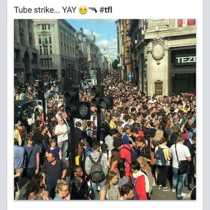 2. Hubo caos en las principales estaciones Foto:Instagram.com/just1tomi