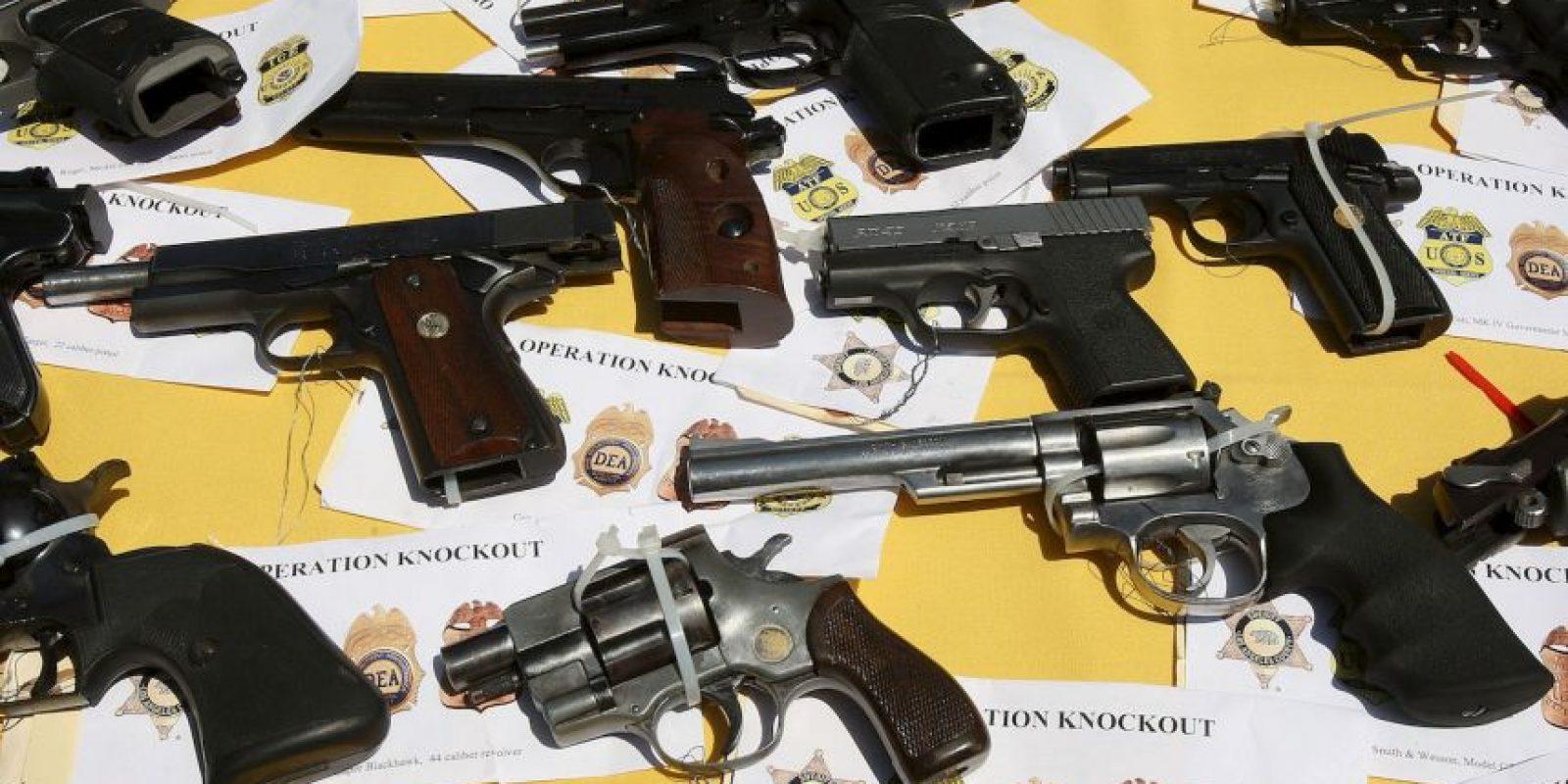 4. La disponibilidad de armas de fuego en un país facilita considerablemente el acceso de las pandillas a las armas. Foto:Getty Images