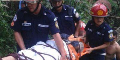 Ángel Ariel falleció dos semanas después de ser arrojado a un barranco Foto:Publinews Guatemala