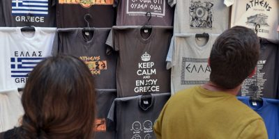 En Grecia, se intenta fomentar el turismo a pesar de la crisis Foto:AFP