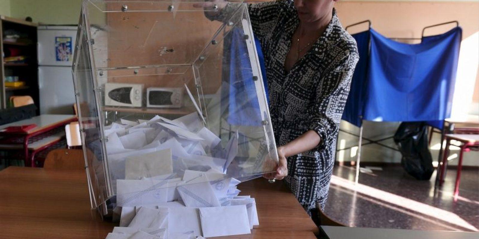 El referéndum de Alexis Tsipras Foto:AFP