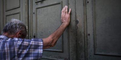 """Grecia y Europa viven momentos de incertidumbre económica tras el referéndum en el que los ciudadanos helenos votaron por el """"No"""", en rechazo a las medidas propuestas por el Eurogrupo en las negociaciones de la deuda, llevas a cabo en Bruselas. Foto:AFP"""