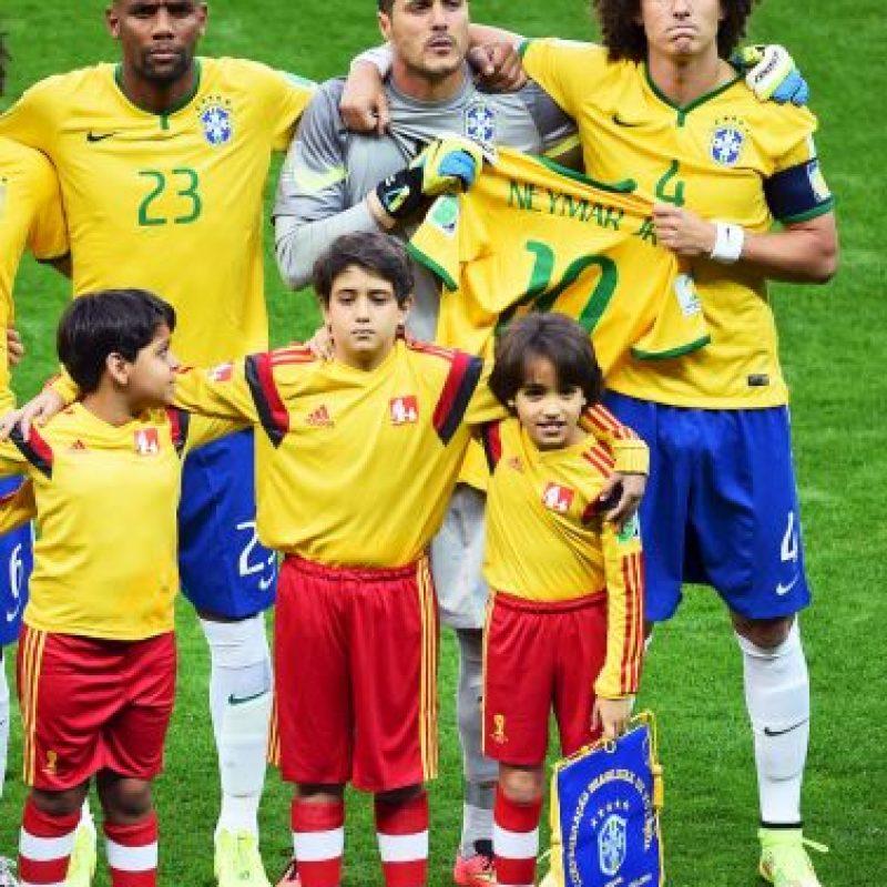 Este partido, Brasil lo jugó sin su máximo referente, Neymar, debido a que se lesionó durante el duelo ante Colombia en cuartos de final. Foto:Getty Images