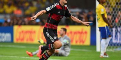 En este partido, Klose anotó su gol 16 en los Mundiales y se convirtió en el máximo goleador histórico de las Copas del Mundo. Foto:Getty Images