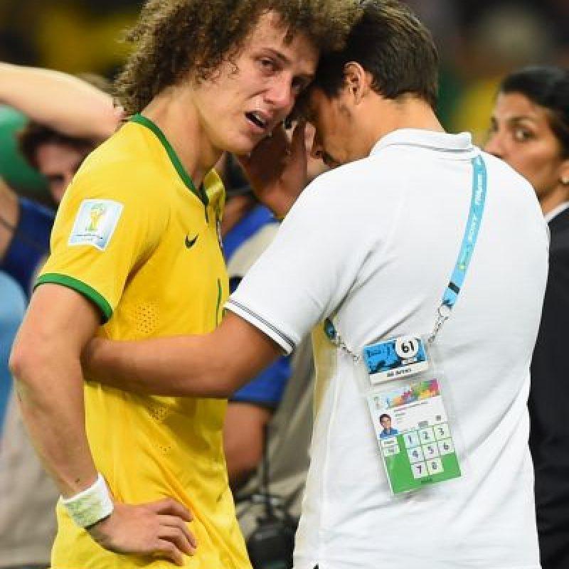 Al final del partido sólo hubo llanto del lado brasileño. Foto:Getty Images