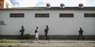 La persecución fue en calles de San Pablo, Brasil. Foto:Getty Images