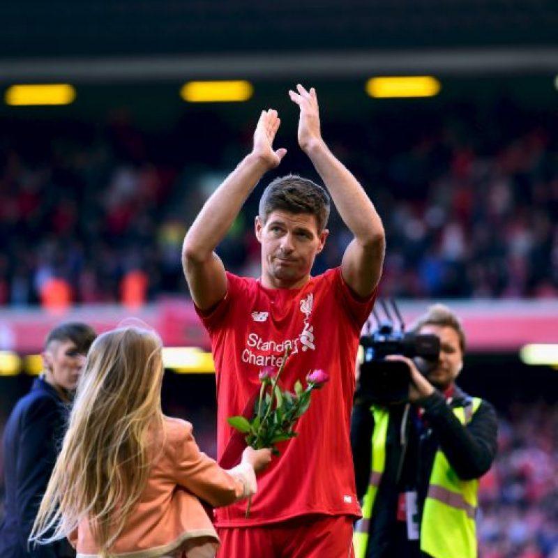 4. Steven Gerrard Foto:Getty Images
