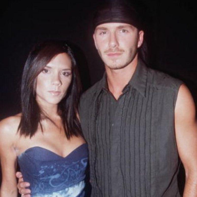 """Luego, para 2002, a David le dio por vestirse como si fuese un integrante de una """"boy band"""". Foto:vía Getty Images"""