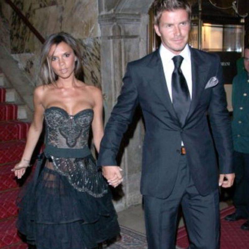 Ríanse: esa era la época en la que decían que Victoria era más elegante que Katie Holmes. Foto:vía Getty Images