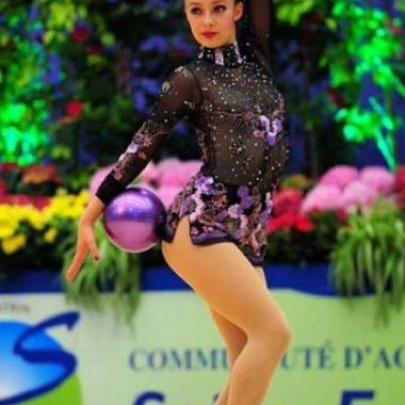 Lina Dussan. Representante de Colombia en gimnasía rítmica Foto:Vía instagram.com/linadussa