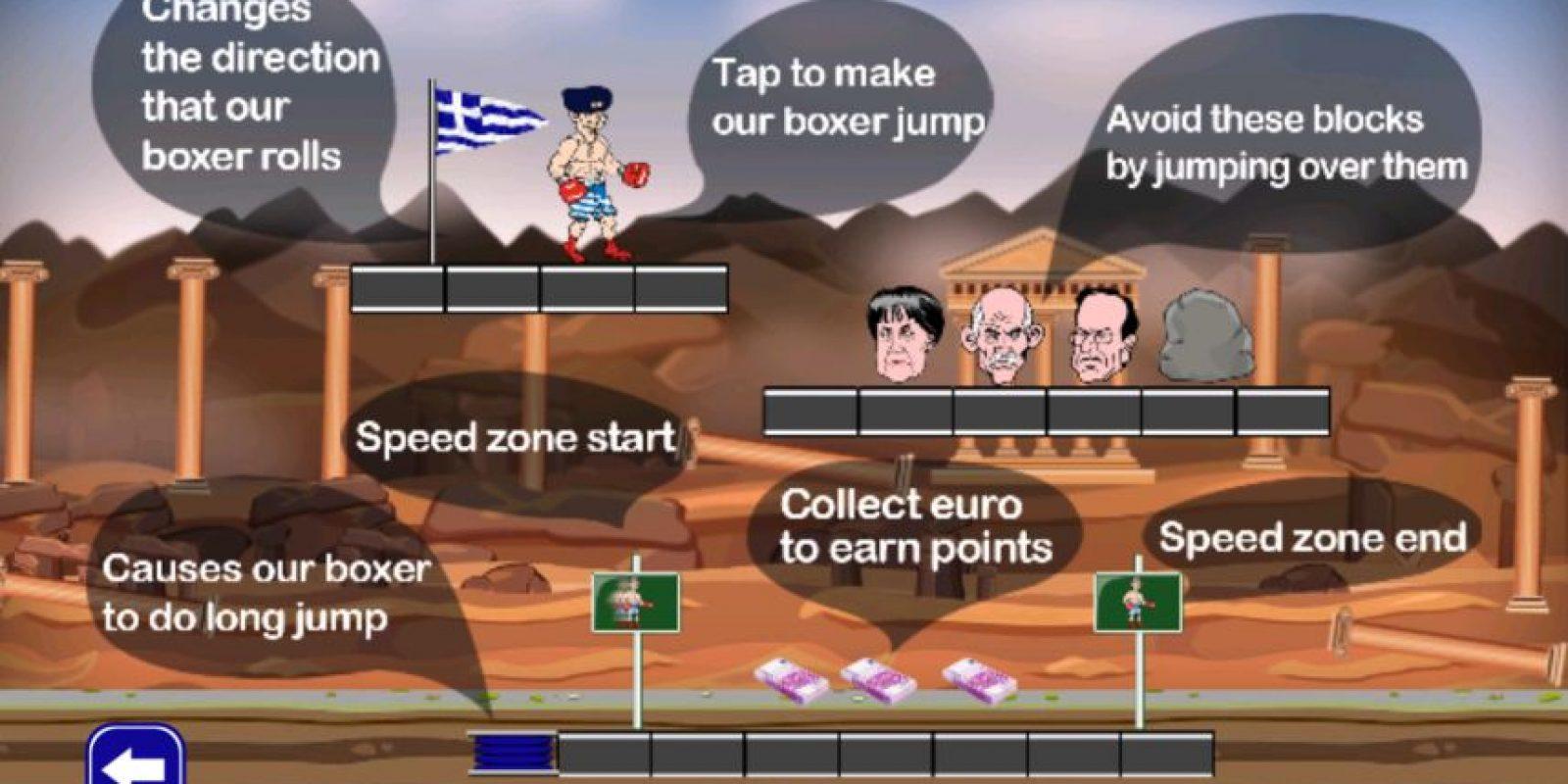 El objetivo es recolectar la mayor cantidad de euros al correr Foto:AAAppDev – Google Play