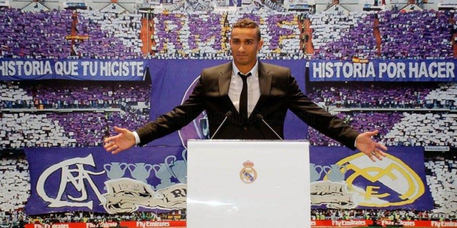 El brasileño Danilo Luiz da Silva es el nuevo jugador del Real Madrid. Foto:Vía facebook.com/RealMadrid