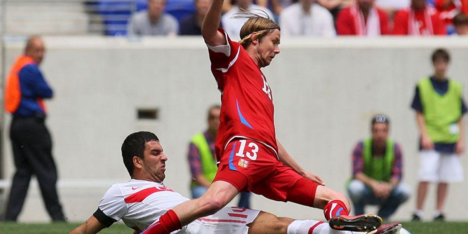 2010. Con Galatasaray levantó una Copa de Turquía y unas Superliga de Turquía Foto:Getty Images