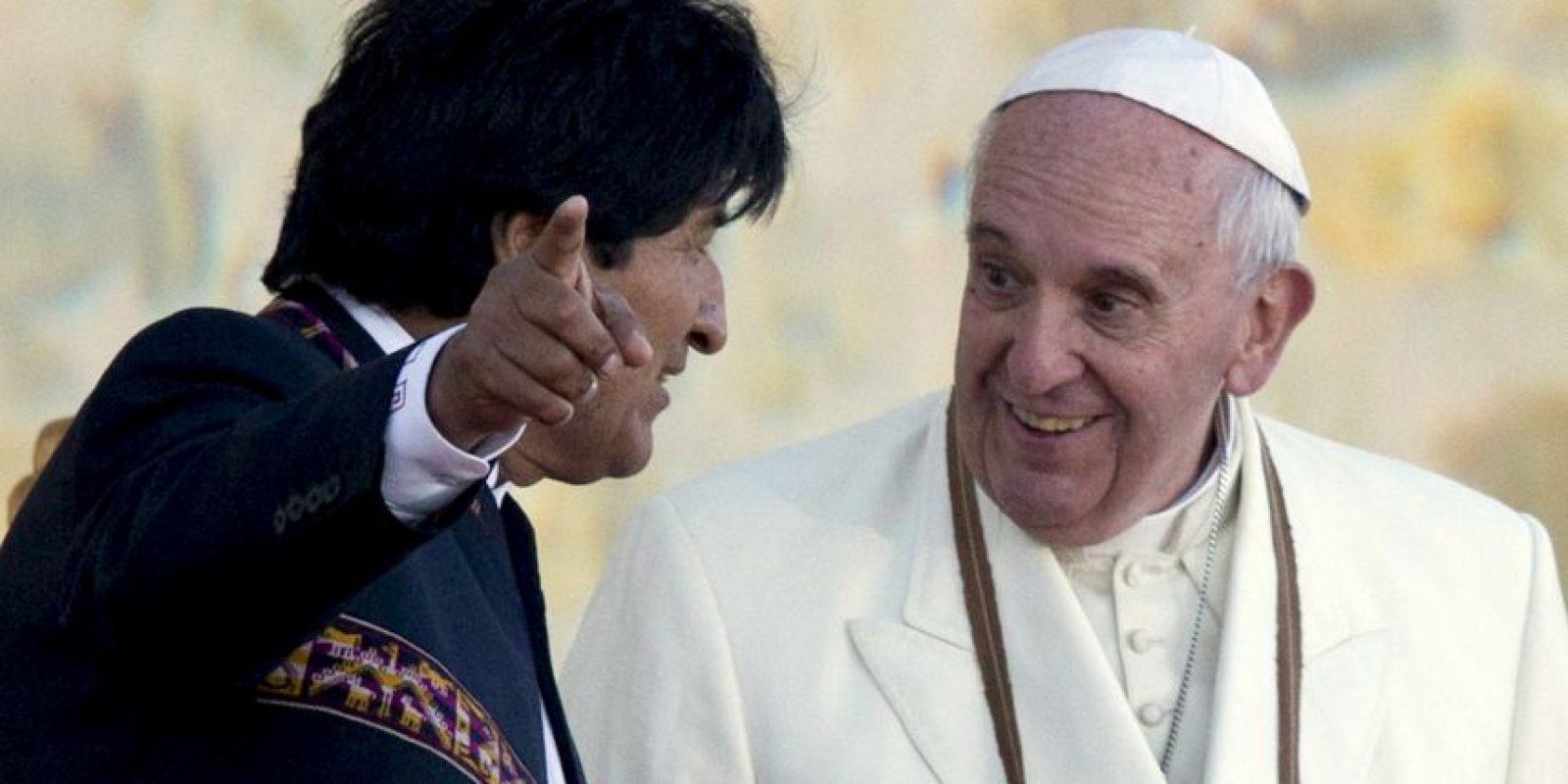 6. Su mandatario es Evo Morales Ayma, presidente electo del Estado Plurinacional de Bolivia. Foto:AP