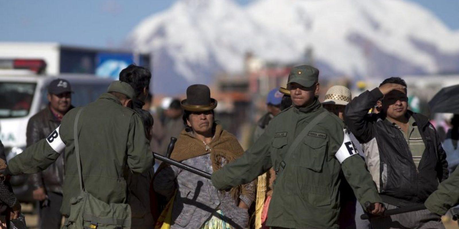 4. Su capital es Sucre y sede del órgano judicial, mientras que La Paz es la sede de los órganos ejecutivo, legislativo y electoral. Foto:AP