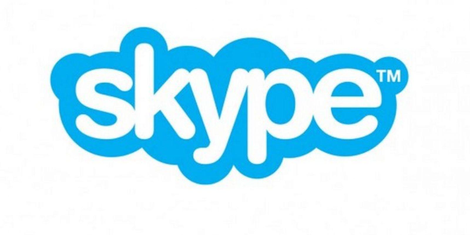 Skype, la plataforma para comunicarse vía voz o texto. Foto:Skype