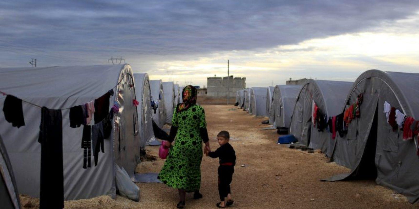 2. Según la ACNUR, 249 mil 726 está en Irak. Foto:Getty Images