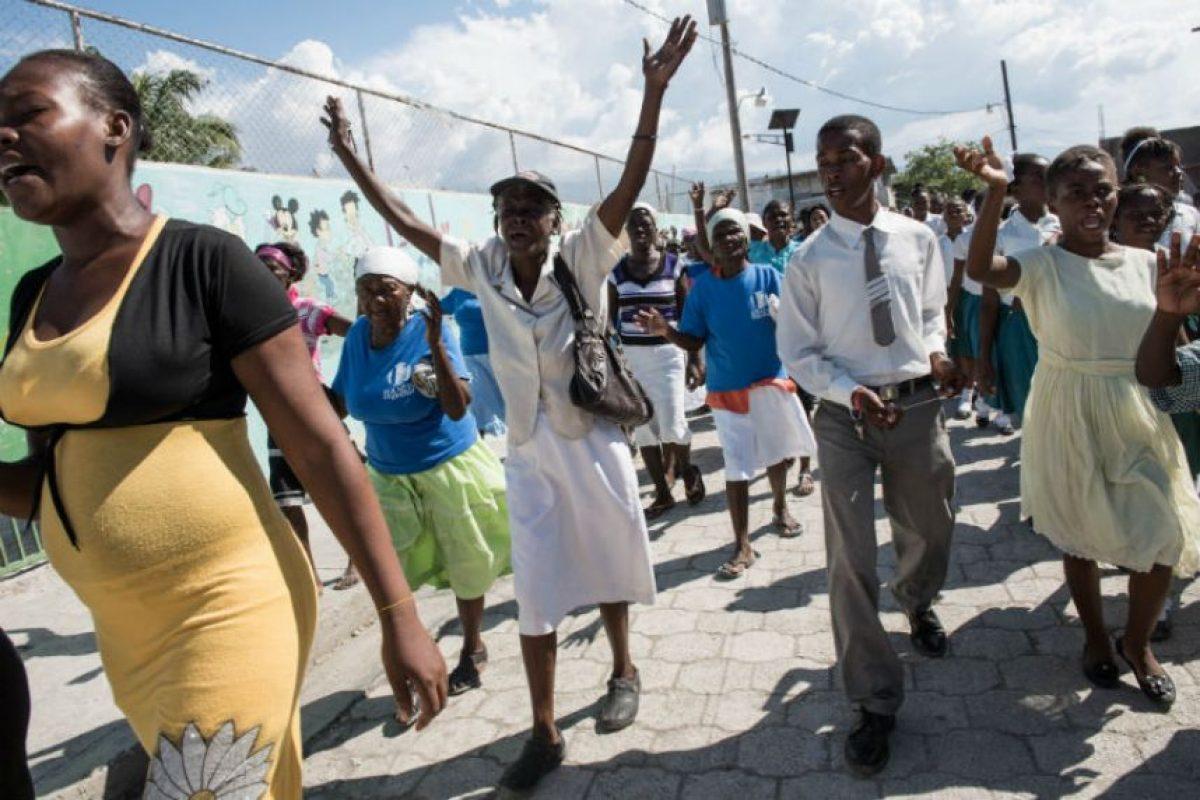 El Gobierno haitiano aseguró que todos los deportados no son nacidos en el territorio. Foto:Getty Images