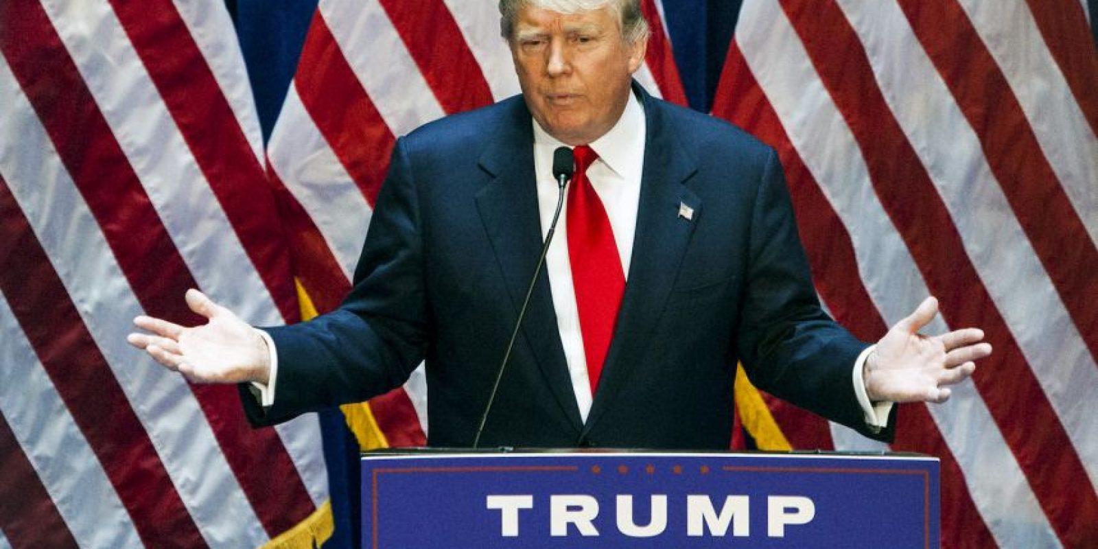 Un reportaje asegura que hay inmigrantes ilegales trabajando para el magnate. Foto:Getty Images