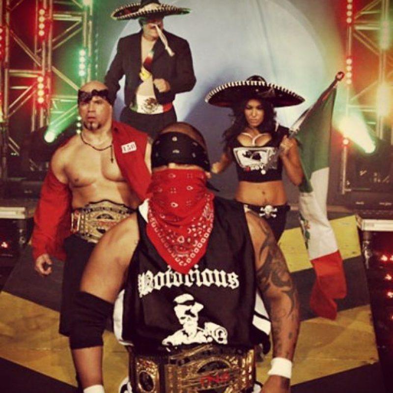 En TNA era conocida como Salinas Foto:Vía instagram.com/funtimeshelly