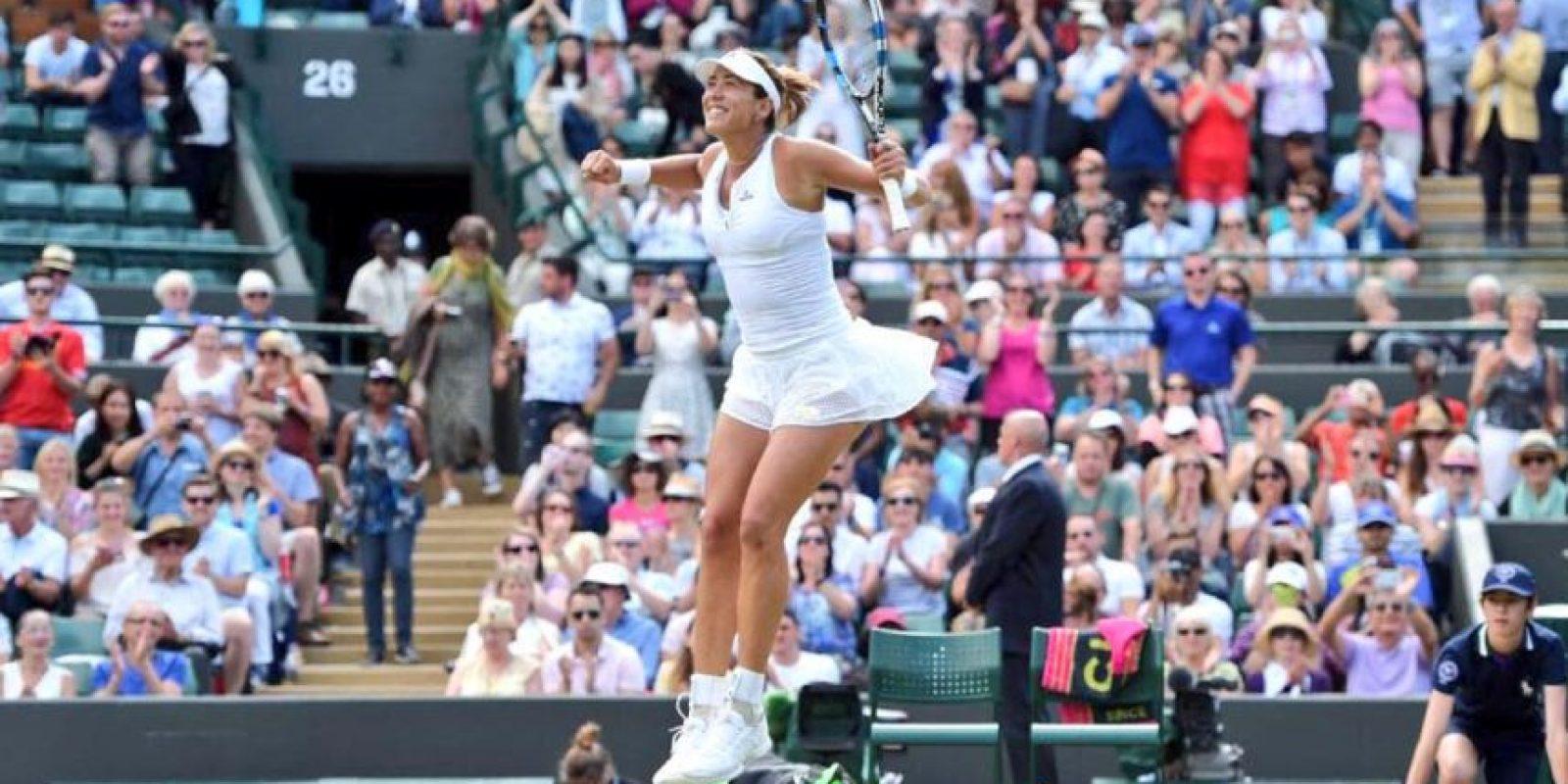 Es la cuarta mujer española que llega a la final de Wimbledon Foto:Getty Images