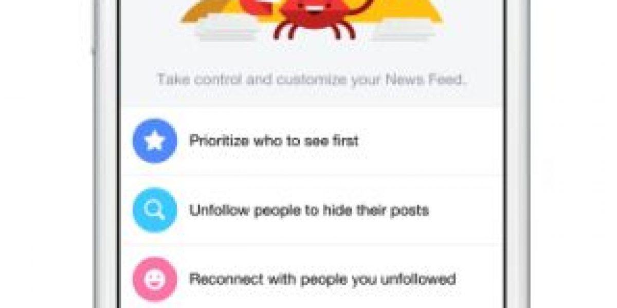 Ahora Facebook los dejará decidir qué noticias quieren ver en su muro