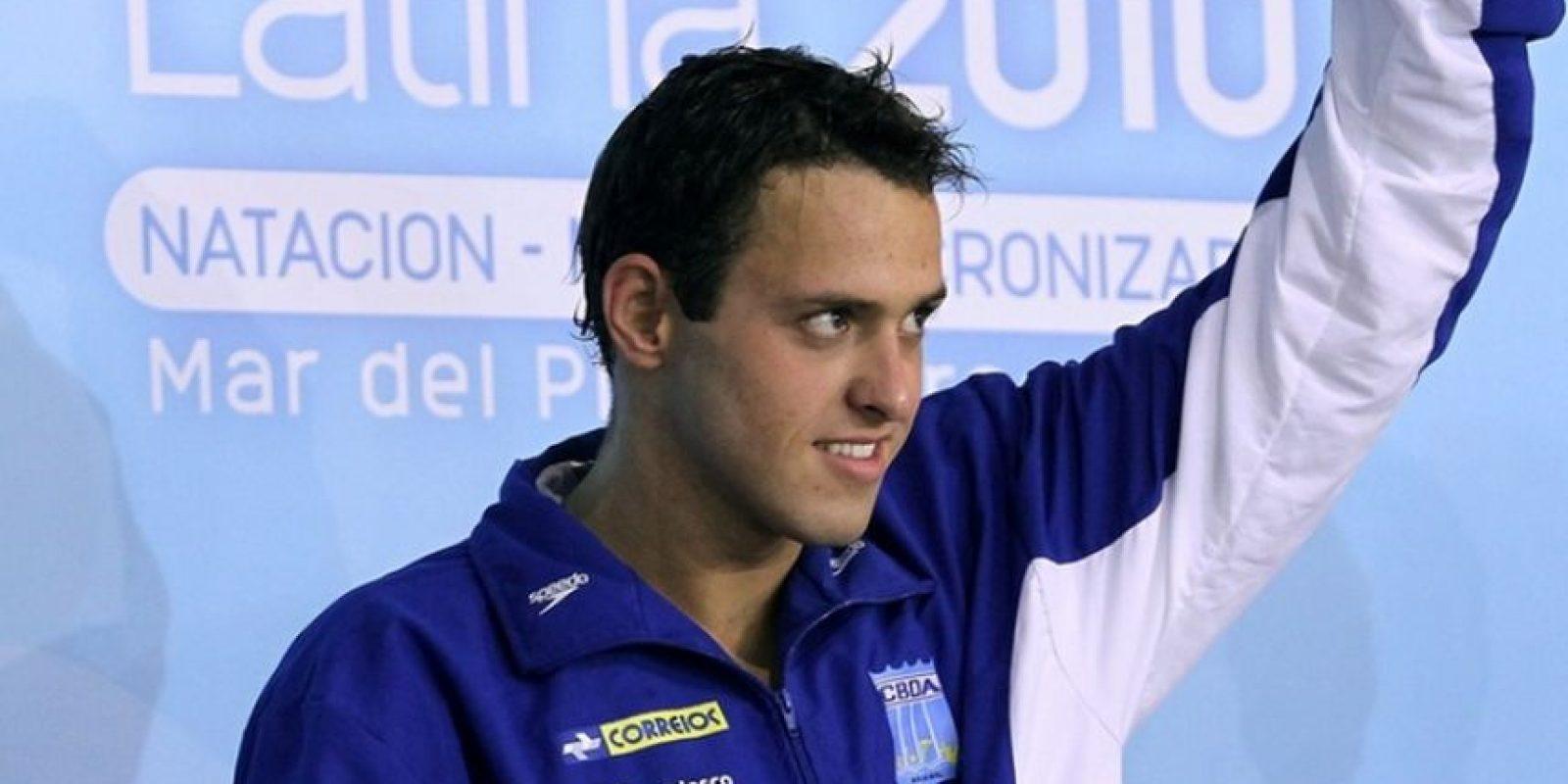 En 2011, ganó la medalla de plata en los Juegos Panamericanos de Guadalajara en la prueba de 4×200 metros. Foto:Vía facebook.com/cbdaoficial