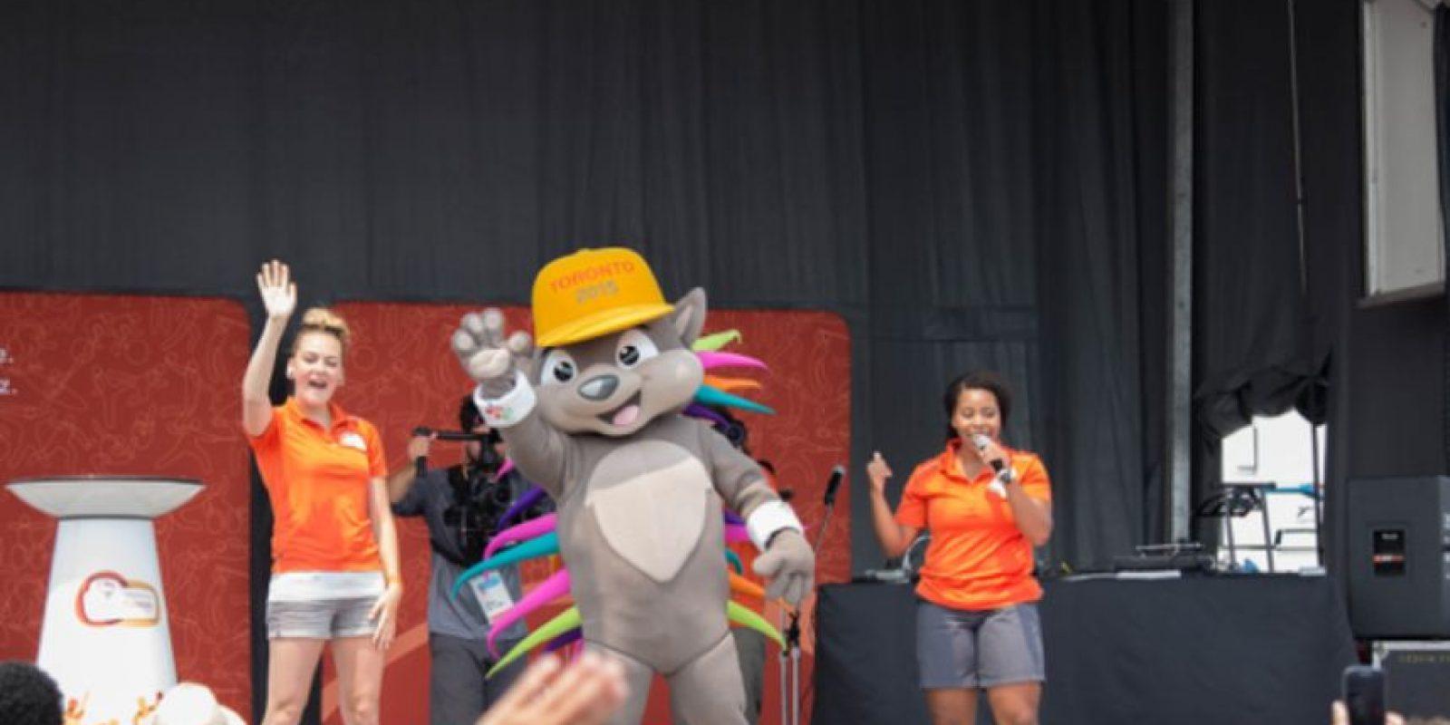 Pachi es el nombre de la mascota de los Juegos Panamericanos 2015 Foto:Vía twitter.com/TO2015