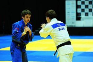 Judoka canadiense de 21 años. Foto:Vía facebook.com/zachary.burt.77