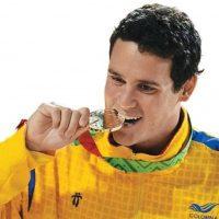 Nadador colombiano de 25 años. Foto:Vía twitter.com/teodeangulo