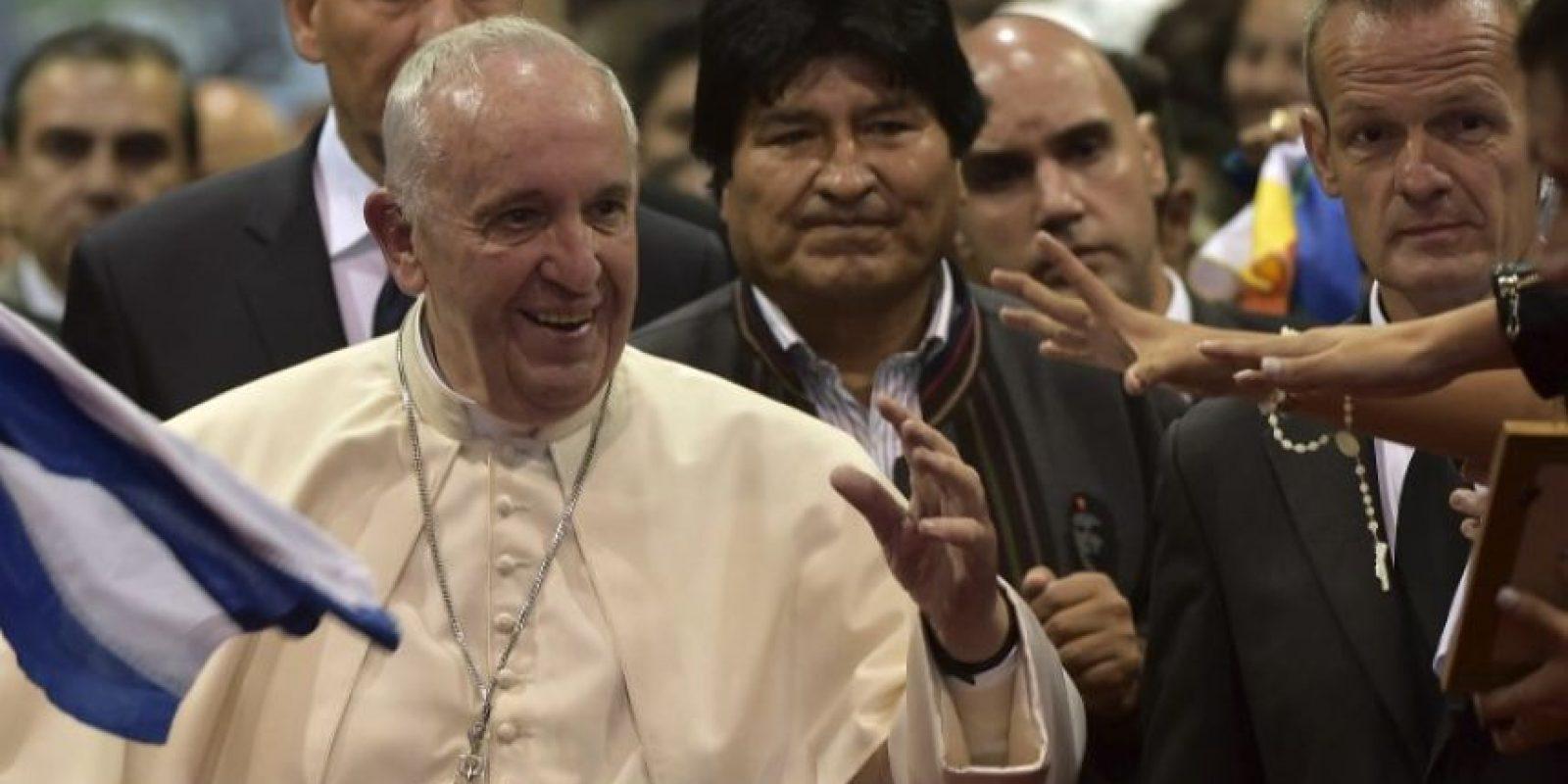 """""""Son derechos sagrados"""", dijo el pontífice Foto:AFP"""