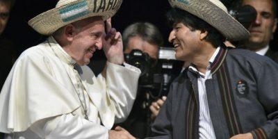 Anoche participó en el II Encuentro de los Movimientos Foto:AFP