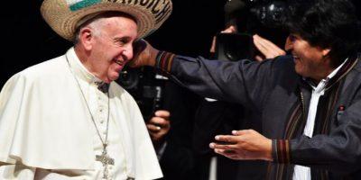 """""""Pido humildemente perdón, no solo por las ofensas de la Iglesia, sino por los crímenes contra los pueblos Foto:AFP"""