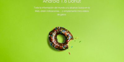 Android 1.6 Donut Foto:Google